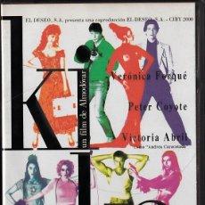Cine: KIKA - PEDRO ALMODÓVAR - VHS. Lote 46960711