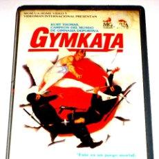 Cine: GYMKATA (1985) - ROBERT CLOUSE KURT THOMAS TETCHIE AGBAYANI RICHARD NORTON VHS MUY RARA. Lote 47041404