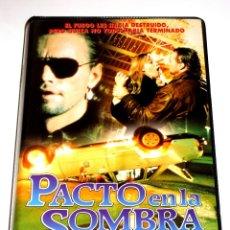Cine: PACTO EN LA SOMBRA (1989) - RICHARD FRIEDMAN DEREK RYDALL JONATHAN GOLDSMITH TERROR VHS. Lote 47044366