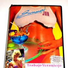 Cine: SUMMER JOB (TRABAJO VERANIEGO) (1989) - PAUL MADDEN SHERRIE ROSE JAMES SUMMER VHS INENCONTRABLE. Lote 47045885