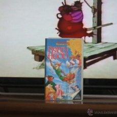 Cine: ROBIN HOOD - DISNEY (VHS DE 1991) - LOS CLÁSICOS. Lote 47141394