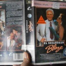 Cine: EL ESCANDALO BLAGE-VHS. Lote 47248895
