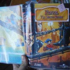Cine: FIEVEL Y EL NUEVO MUNDO-VHS(COMPRA MINIMA 10 EU--). Lote 47261919