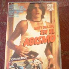 Cine: EN EL ABISMO / OVER THE EDGE (1979) VHS.. Lote 47366262