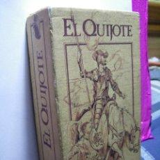 Cine: EL QUIJOTE - EDICION ESPECIAL RTVE (CARTONÉ ILUSTRADO) - VHS (2 CINTAS). Lote 47370656