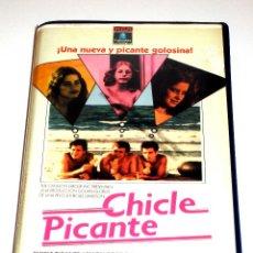 Cine: CHICLE PICANTE (POLO DE LIMON 3) (1981) - BOAZ DAVIDSON YFTACH KATZUR JONATHAN SAGALL ZACHI NOY VHS. Lote 47372052