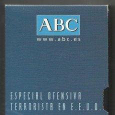 Cine: ESPECIAL OFENSIVA TERRORISTA EN ESTADOS UNIDOS (ATENTADOS DEL 11-S) - ABC, 09/2001. Lote 47395087