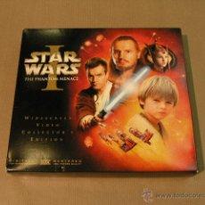 Cine: STAR WARS THE PHANTON MENACE EDICION COLECCIONISTA WIDESCREEN. Lote 47435395