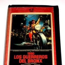 Cine: 1990 : LOS GUERREROS DEL BRONX (1982) - ENZO G. CASTELLARI MARK GREGORY VIC MORROW VHS 1ª EDICION. Lote 48638693