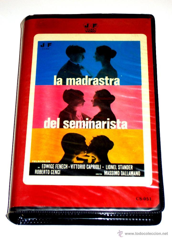 LA MADRASTRA DEL SEMINARISTA (1974) - MASSIMO DALLAMANO EDWIGE FENECH VITTORIO CAPRIOLI VHS MUY RARA (Cine - Películas - VHS)