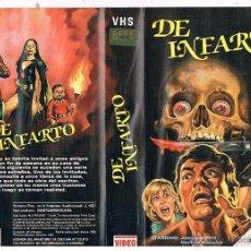 Cine: DE INFARTO VHS - DEBUT DE OLIVER STONE DEL 74 CON PESADILLAS Y MONSTRUOS UNICA EN TC ¡REBAJADA 50%!. Lote 47661970