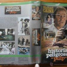 Cine: ISTORIAS PELIGROSAS -PULP- VHS. Lote 47782325