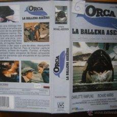 Cine: ORCA LA BALLENA ASESINA-VHS. Lote 61232961