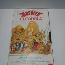 Cine: VHS ASTERIX Y CLEOPATRA -TELEPIZZA- DARGAUD FILMS. Lote 47822152