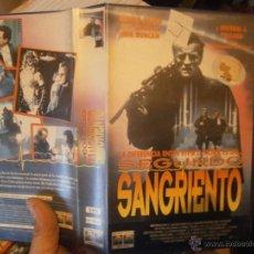Cine: SEGUNDO SANGRIENTO-VHS. Lote 47843261
