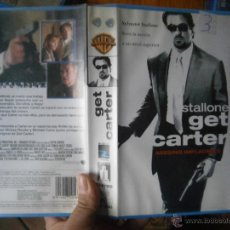 Cine: GET CARTER ASESINO IMPLACABLE-VHS(COMPRA MINIMA 6 EURO--). Lote 47858841