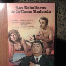Cine: LOS CABALLEROS DE LA CAMA REDONDA - JORGE PORCEL / ALBERTO OLMEDO / MIMI PONS - DESCATALOGADA. Lote 47906784