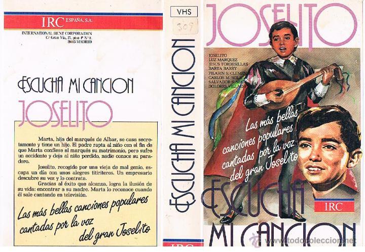 Vhs Escucha Mi Canción Joselito Sold Through Direct Sale 47950332