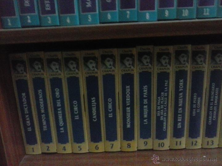 COLECCIÓN COMPLETA CHARLES CHAPLIN VHS A FALTA DE UNA PELÍCULA DE UN TOTAL DE 25 (Cine - Películas - VHS)