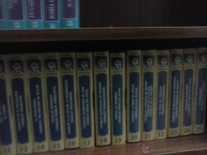 Cine: Colección completa Charles Chaplin VHS a falta de una película de un total de 25 - Foto 2 - 48061160
