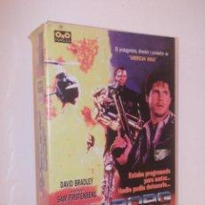 Cine: CYBORG COP VHS - SERIE B PROTAGONIZADO POR DAVID BRADLEY (EL GUERRERO AMERICANO 3) ¡¡OPORTUNIDAD!!. Lote 48162370