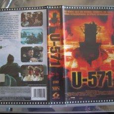 Cine: 3 PELICULAS. U-571 Y 2 MAS (VER DENTRO). Lote 48322017