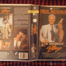 Cine: EL ESCANDALO BLAZE-VHS. Lote 48367175