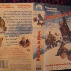 Cine: FIESTA DE LA NIEVE-VHS. Lote 48368679