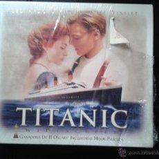 Cine: TITANIC DE JAMES CAMERON PELÍCULA Y CAJA - KATE WINSLET - LEONARDO DICAPRIO - CINE VHS (REF J). Lote 48599119