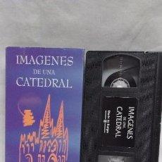 Cine: DOCUMENTAL. VHS - IMAGENES DE UNA CATEDRAL DE BURGOS. Lote 48692302