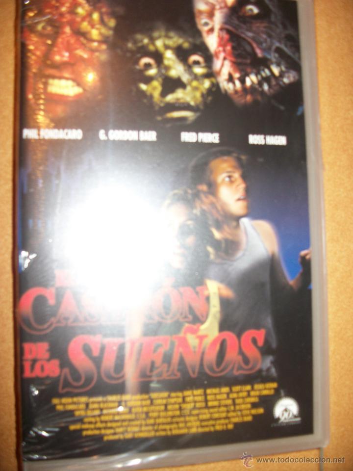 VHS - EL CASERON DE LOS SUEÑOS - PRECINTADO - TERROR (Cine - Películas - VHS)
