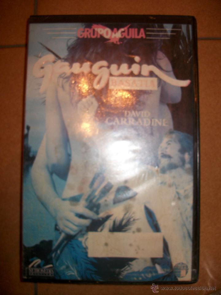 VHS - GAUGUIN BASATTA - DAVID CARRADINE - PRECINTADO (Cine - Películas - VHS)