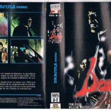 Cine: DRACULA NEGRO VHS - CLASICO VAMPIRICO SETENTERO DE BLAXPLOITATION CON PAM GRIER ¡¡REBAJADO UN 20%!!. Lote 48981274