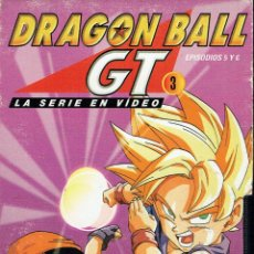 Cine: DRAGON BALL. GT 5 Y 6. LA SERIE EN VÍDEO. Lote 49027266