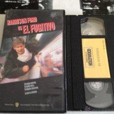 Cine: EL FUGITIVO VHS HARRISON FORD. Lote 49071878