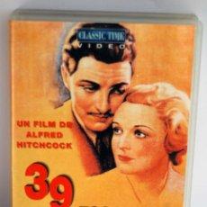 Cine: 39 ESCALONES DE ALFRED HITCHCOCK EN VHS. Lote 49128246