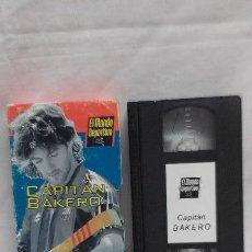 Cine: CINTA DE VIDEO VHS ORIGINAL - CAPITAN BAKERO - BARCELONA - FUTBOL CLUB- EL MUNDO DEPORTIVO- . Lote 49236431
