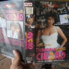 Cine: ESCANDALO EN LA CIUDAD-VHS. Lote 49333620