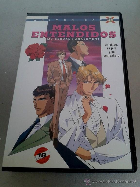 VHS - MALOS ENTENDIDOS - ANIMACION, ANIME JAPONES, DIBUJOS ANIMADOS (Cine - Películas - VHS)