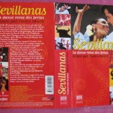 Cine: VIDEO VHS SEVILLANAS DE CARLOS SAURA ( 1992). Lote 49381972