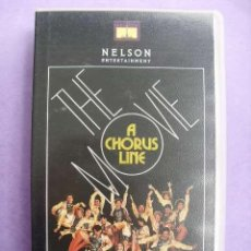 Cine: A CHORUS LINE THE MOVIE. MICHAEL DOUGLAS, 1985. VHS.. Lote 49481077