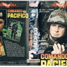 Cine: VHS COMANDO PACIFICO - SUSAN DEY. Lote 49561301