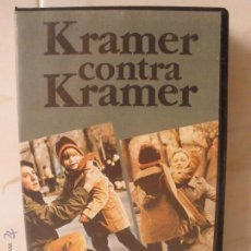 Cine: PELICULA VHS KRAMER CONTRA KRAMER - DRAMA - DUSTIN HOFFMAN, MERYL STREEP. Lote 49614421