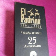 Cine: EL PADRINO 1901 - 1959 EDICCION ESPECIAL 25 ANIVERSARIO 3 VHS. Lote 99903090