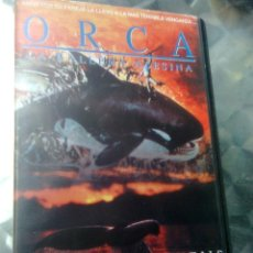 Cine: ORCA, LA BALLENA ASESINA (MICHAEL ANDERSON, 1977) ERA TIBURÓN - PRIMIGENIA EDICIÓN ESTELA VIDEO. Lote 49708867
