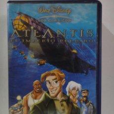 Cine: ATLANTIS EL IMPERIO PERDIDO PELICULA VHS WALT DISNEY . Lote 49718136