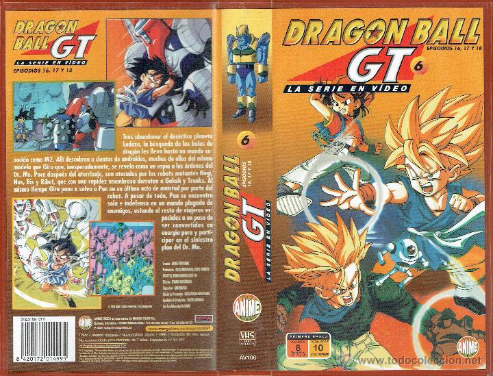 DRAGON BALL GT 6. EPISODIOS 16, 17 Y 18 (Cine - Películas - VHS)