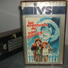 Cine: VHS - LAS AVENTURAS DE TOM SAWYER (IVS, 1983), NORMAN TAUROG, WALTER BRENN (IAN.. Lote 49904502