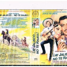 Cine: VHS AY JALISCO NO TE RAJES - JORGE NEGRETE . Lote 49907808