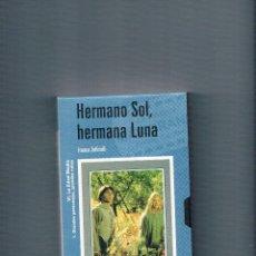 Cine: VHS HERMANO SOL, HERMANA LUNA FRANCO ZEFFIRELLI EL MUNDO 2001 RELIGIÓN CINE. Lote 49998243
